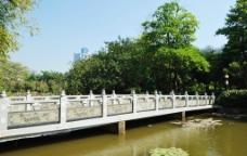 深圳洪湖公园白玉桥图片