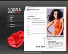 图片浏览网站模板