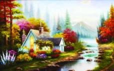 欧洲油画4图片