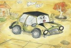 漫画卡通车 1图片