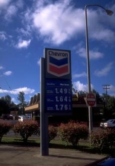 國外的加油站图片