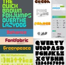 创意英文字体图片