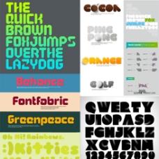 创意英文字体