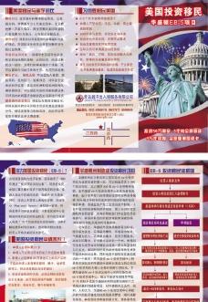 华盛顿移民三折页图片