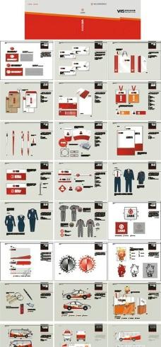 三旺农牧集团全套VIS设计图片