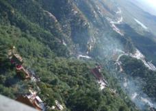 青岩寺鸟瞰风景图片
