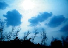 山间云彩图片