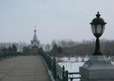 俄罗斯风情之梦幻伏尔加庄园图片