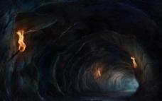 山洞 火星图片