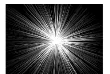 光射线爆炸效果图片