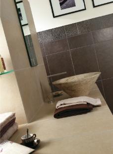 浴室卫生间瓷砖铺贴应用美图图片