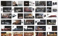 一本沙发画册的设计稿 包含较多位图 图片