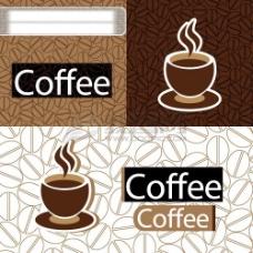 咖啡主题矢量素材