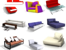 140个现代沙发之12图片