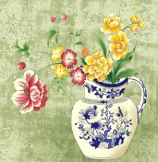 艺术花图瓶3图片