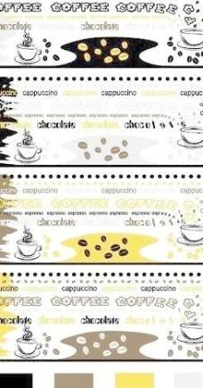 咖啡杯贴花图图片