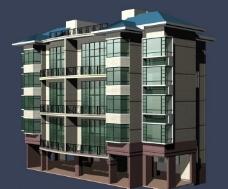 模型 建筑 MAX图片