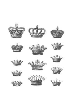 15个矢量 crowns 皇冠 王冠 国王 王后 皇帝 皇后 教皇图片