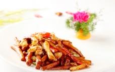 茶树菇炒蛏鲜图片