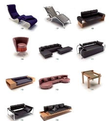 116个 时尚沙发椅子图片